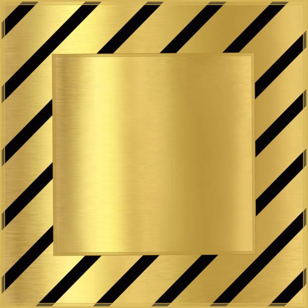 goldgrund mit schwarzen diagonale linien - kunst 1. klasse stock-fotos und bilder