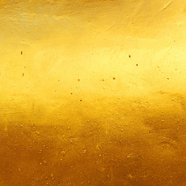 Golden background with texture stock photo