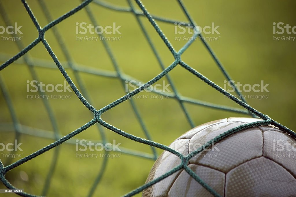 Golden ball stock photo