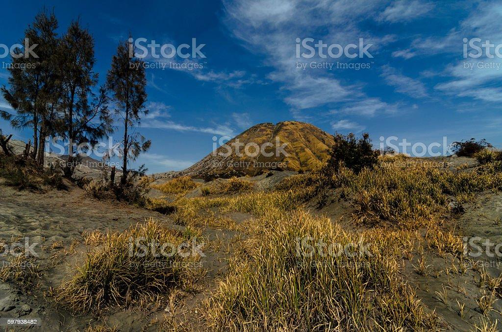 Golden Batok III foto royalty-free