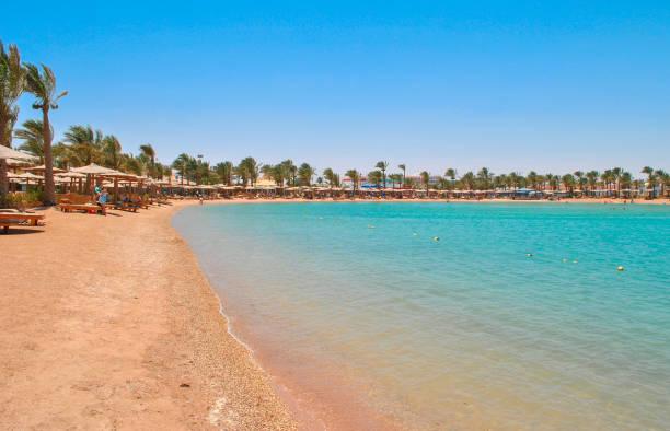 Golden Beach in Hurghada, Ägypten – Foto
