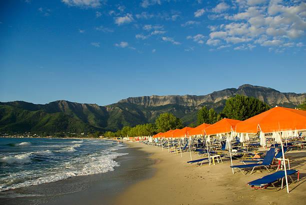 Golden beach, Thassos, Griechenland. – Foto