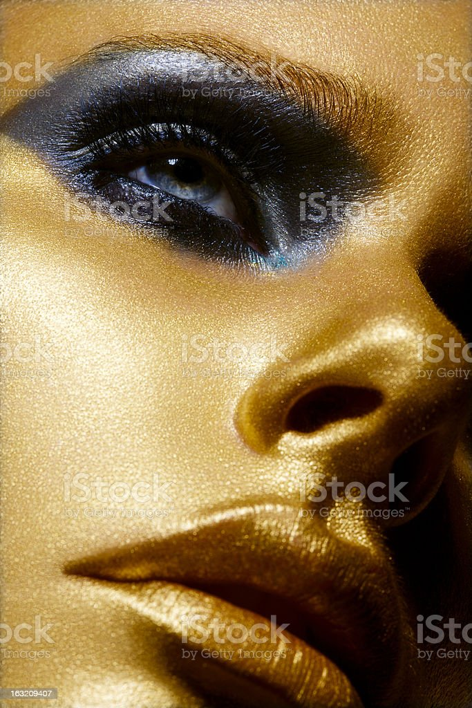 Golden Beauty royalty-free stock photo