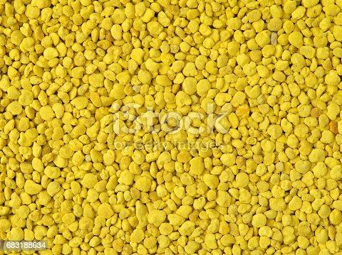 istock Golden bee pollen granules abstract background 683188634