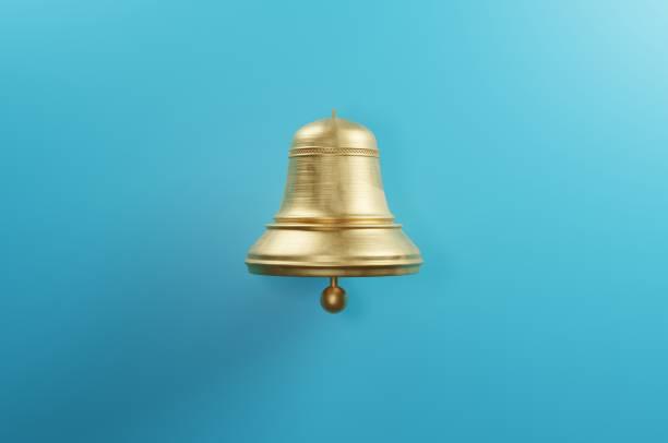 Golden Bell stock photo