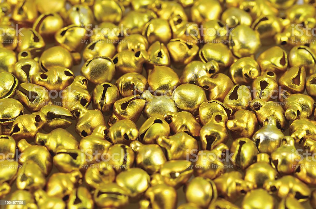 Golden bell royalty-free stock photo