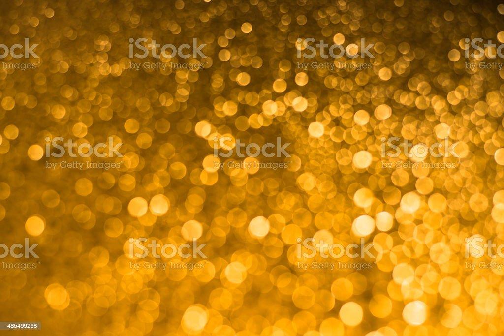Golden  bokah elegant abstract background stock photo