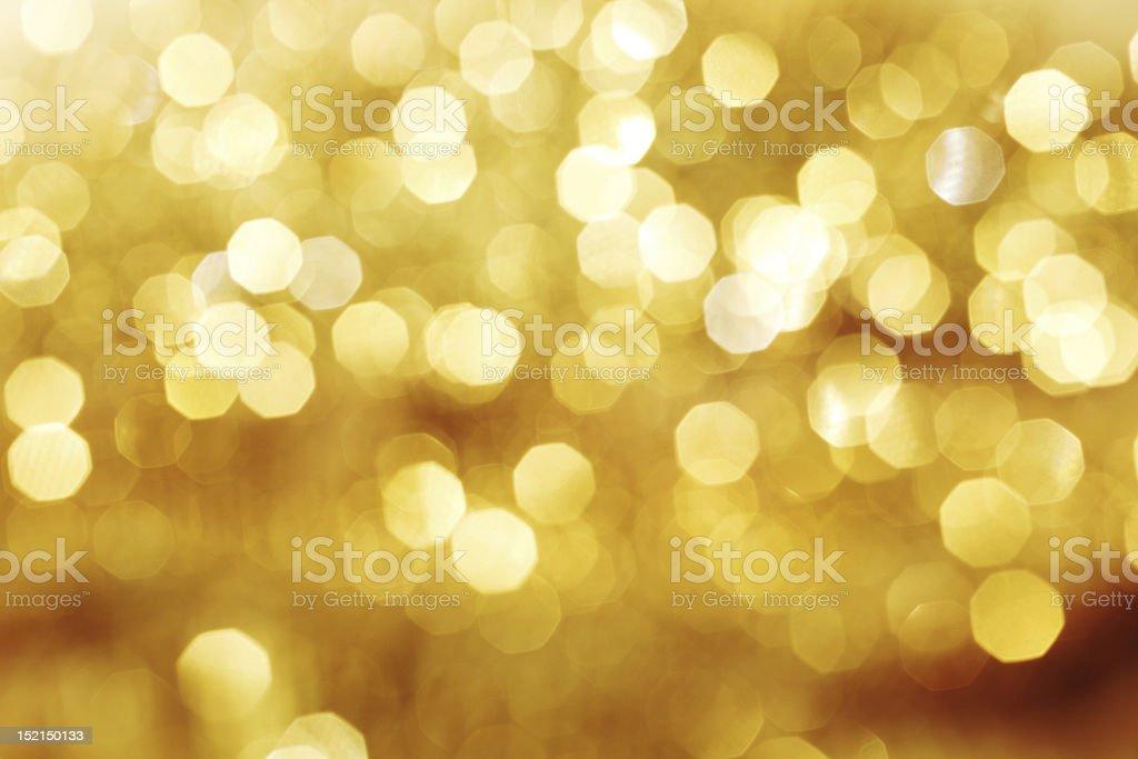 golden bokeh stock photo