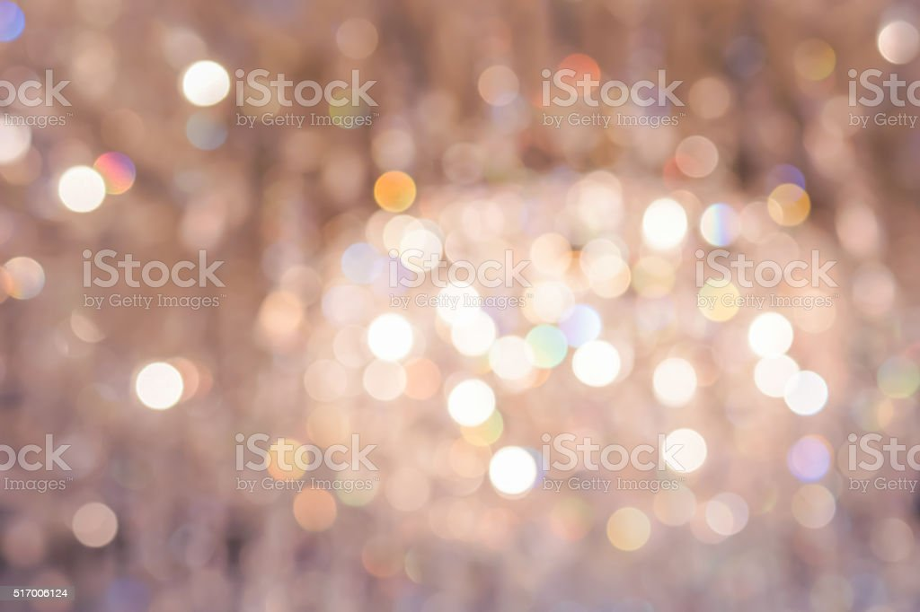 Golden bokeh stock photo