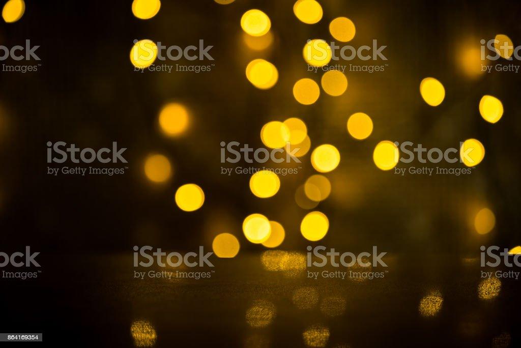 Golden bokeh royalty-free stock photo