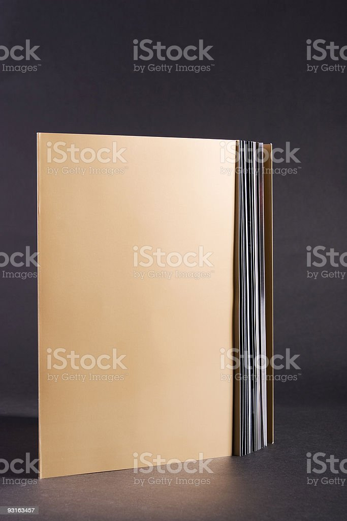 Golden book royalty-free stock photo
