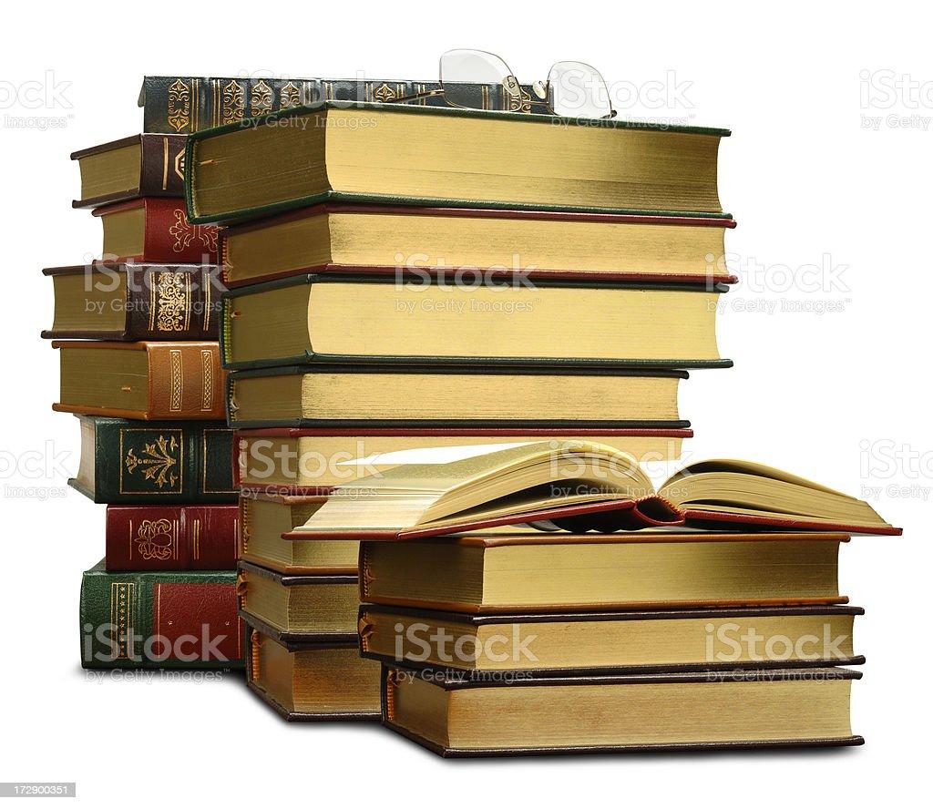 Golden Books royalty-free stock photo