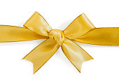 istock golden bow 526223785