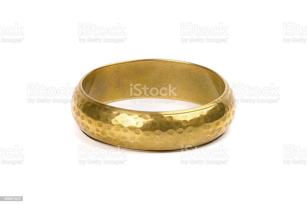 golden bracelet royalty-free stock photo