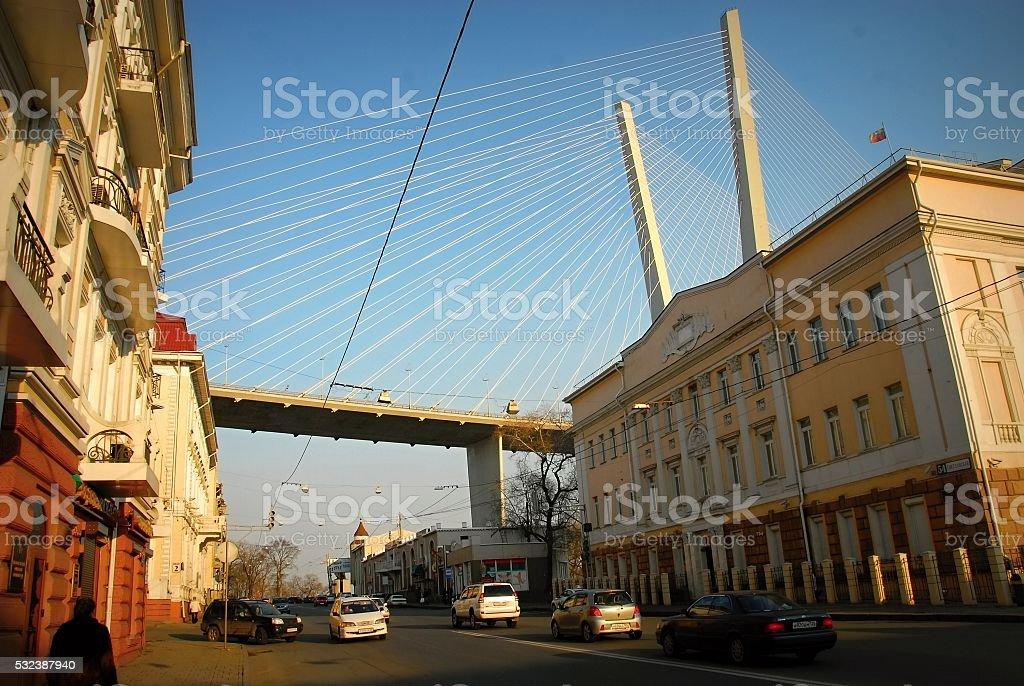 Золотой Мост стоковое фото