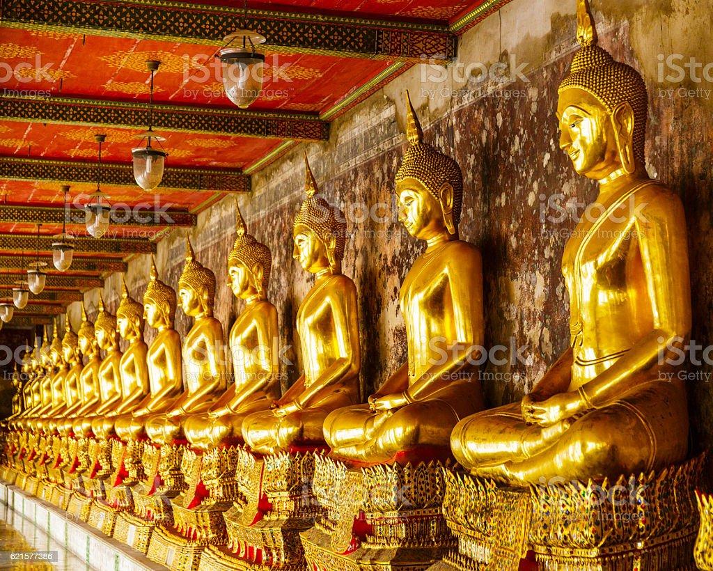 temple du Bouddha en or  photo libre de droits