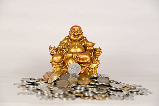 golden buddha - buddha stock photos and pictures