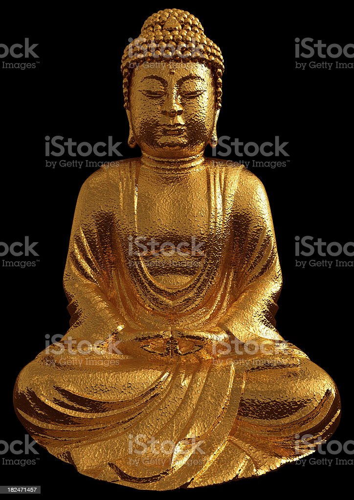 golden buddha statue stock photo more pictures of asia istock