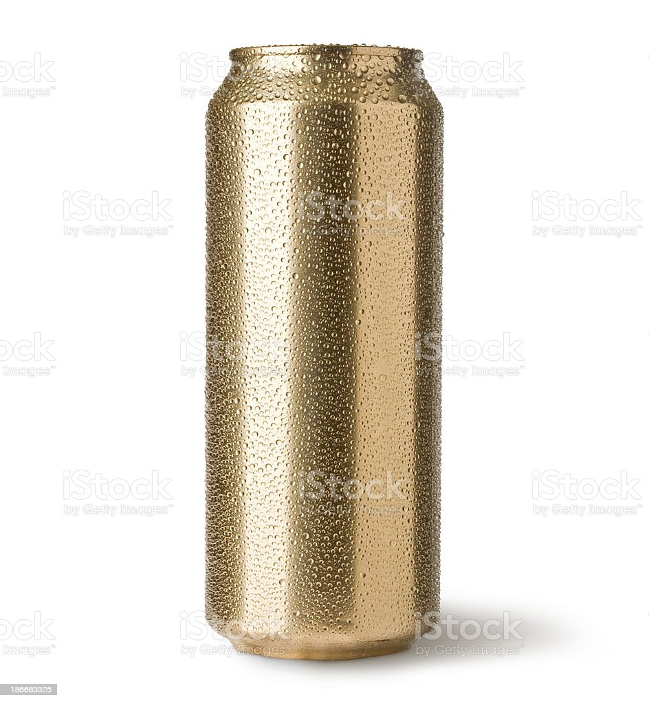golden can stock photo