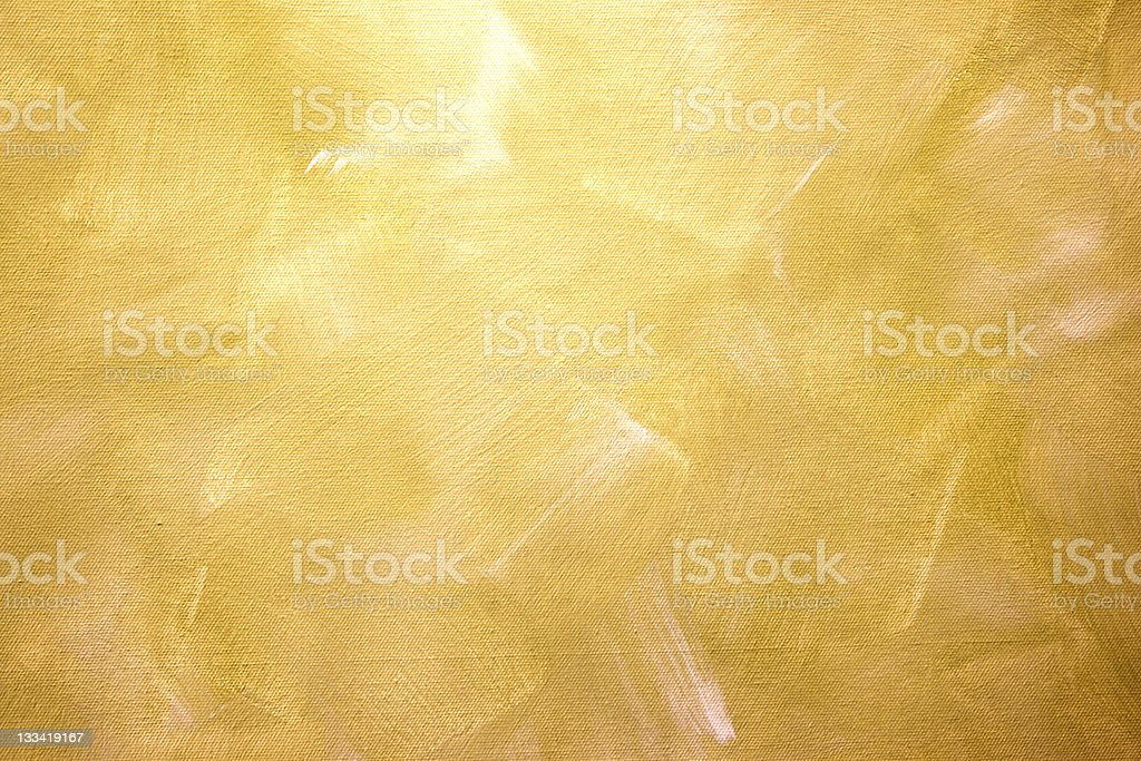 Golden Canvas detail stock photo
