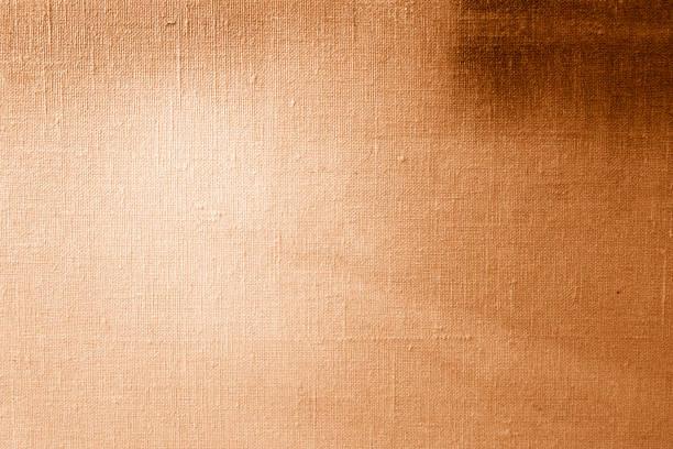 Fond de texture d'or de toile - Photo