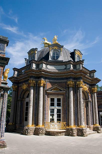 golden castle - eremitage stock-fotos und bilder