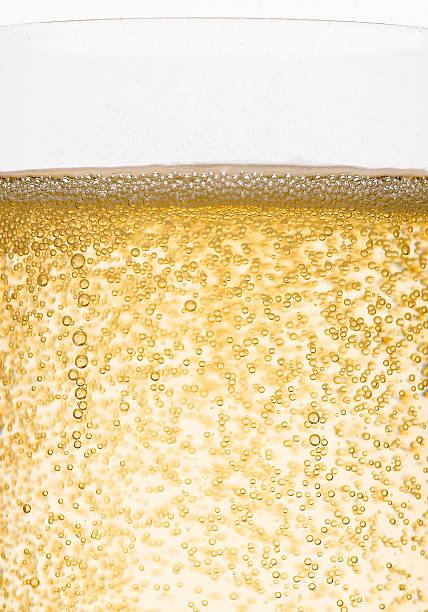 Golden Champagner-Blasen – Foto