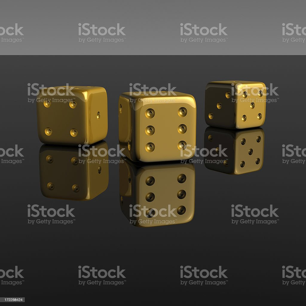Golden Chances XXL royalty-free stock photo