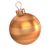 istock golden Christmas ball modern 1032674192