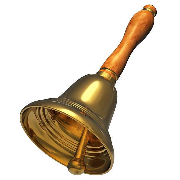 golden natale campanella - squillare foto e immagini stock