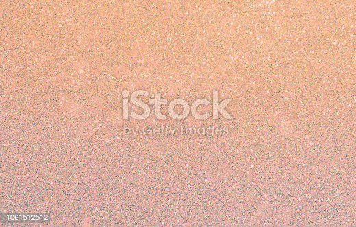 857847778 istock photo Golden color abstract glitter texture background for holidays 1061512512