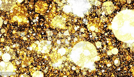 857847778 istock photo Golden color abstract glitter texture background for holidays 930135240