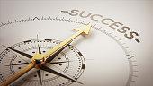 istock Golden Compass Concept 685797192
