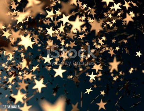 istock golden confetti stars falling 174816616
