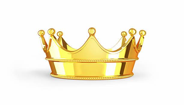 goldene krone - könig stock-fotos und bilder