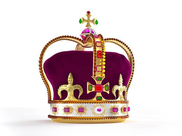 goldene krone - prinzenkrone stock-fotos und bilder