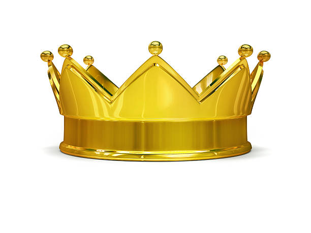 golden crown - crown stock photos and pictures
