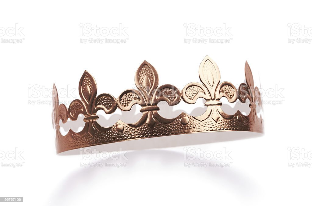 Golden Crown (XXXL) stock photo