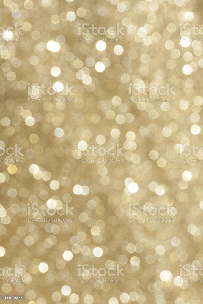 golden crystal glitter blur royalty-free stock photo