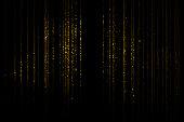 istock Golden curtain 1204191655