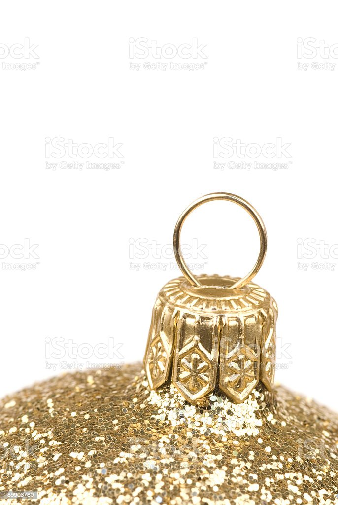 Golden decoration royalty-free stock photo