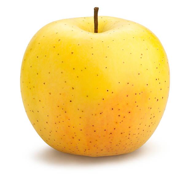délicieuses pommes golden - golden photos et images de collection