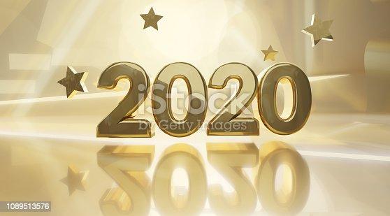 istock golden design background 2020 3d-illustration 1089513576