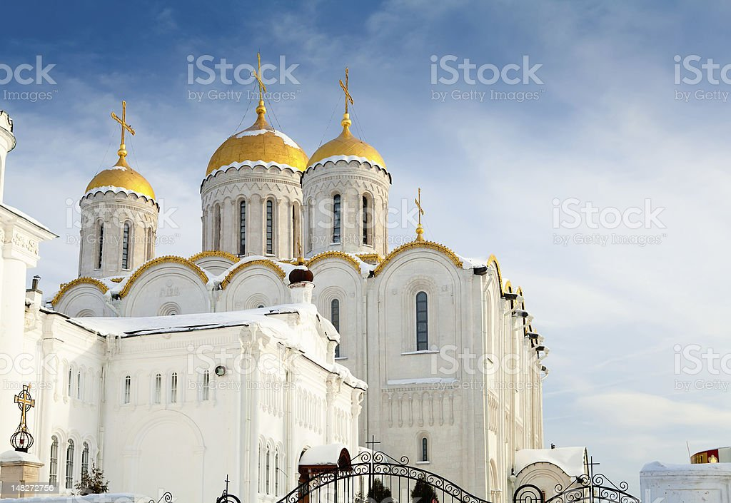 Golden domes royalty-free stock photo