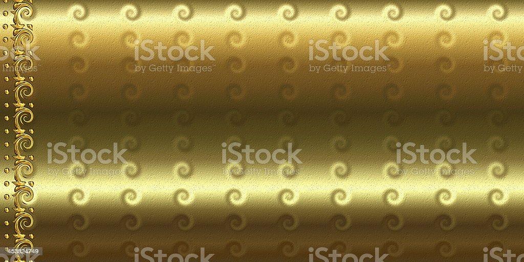 Golden Edge royalty-free stock photo