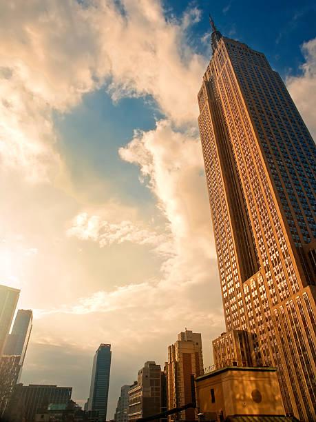 Golden Empire stock photo