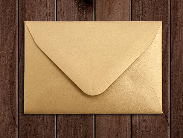 Golden envelope.