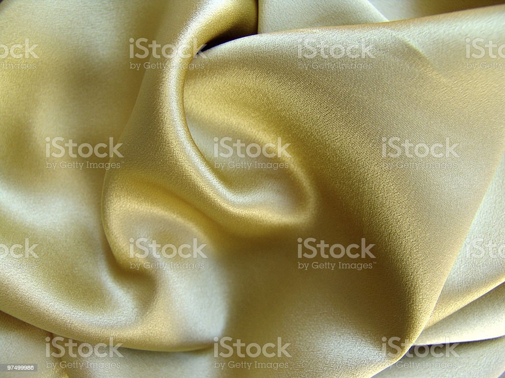 golden fabric royalty-free stock photo