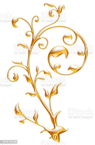 Golden floral decoration 3d illustration picture id1018720746?b=1&k=6&m=1018720746&s=612x612&h=fik3fe  3j1qs87gy2xz87uuob61hpn05dr8xlvrscs=