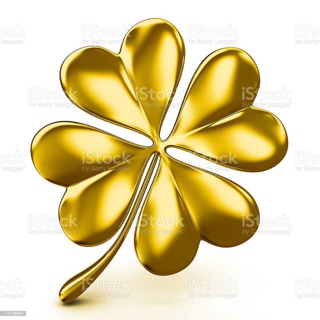 golden four leaf clover stock photo 171156351 istock